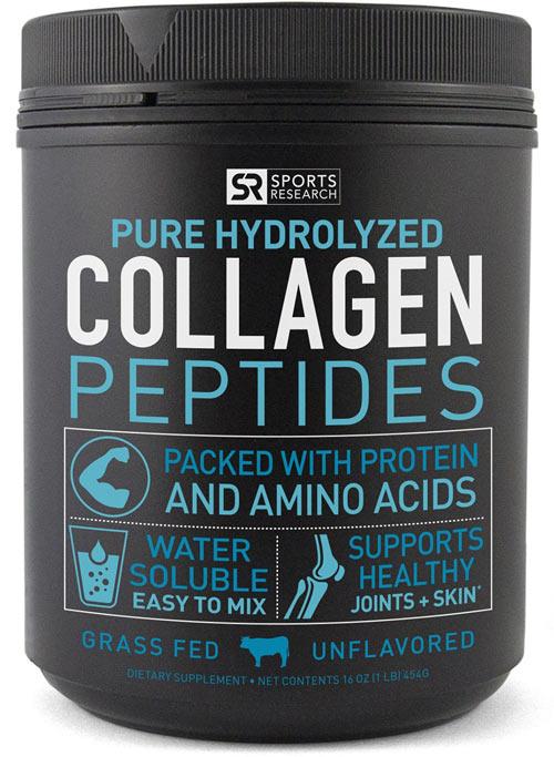 Best Collagen Supplement #1: Pure Hydrolyzed Collagen Peptides
