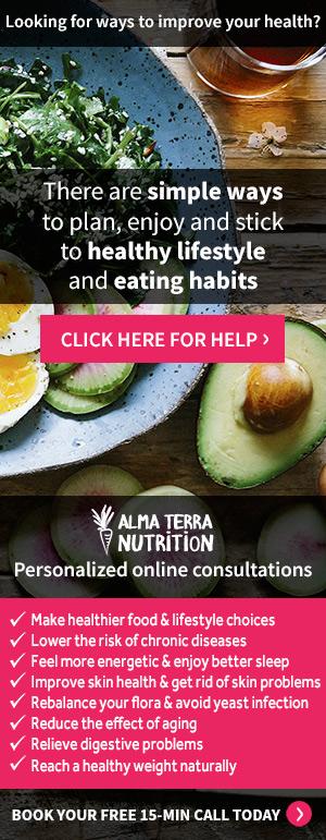 Alma Terra Nutrition - Healthy lifestyle & Eating Habits