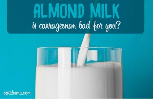 almond milk brands without carrageenan