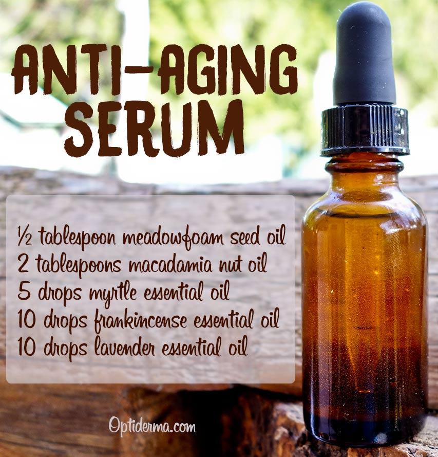Anti-aging serum with Meadowfoam Seed Oil