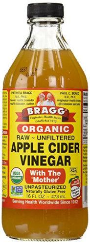 Raw Apple Cider Vinegar for Blisters