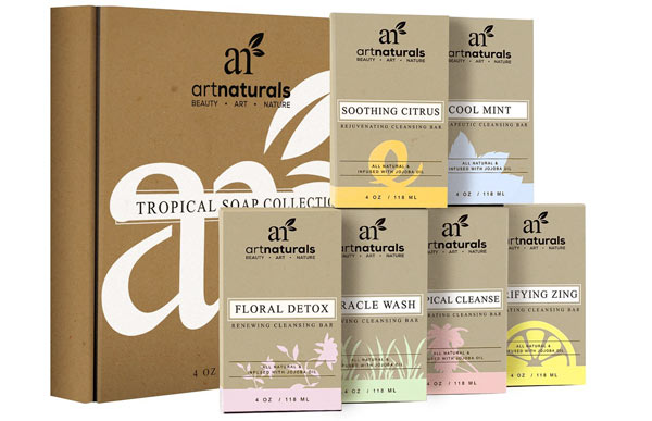 Art Naturals Soaps Holiday Skincare Gift