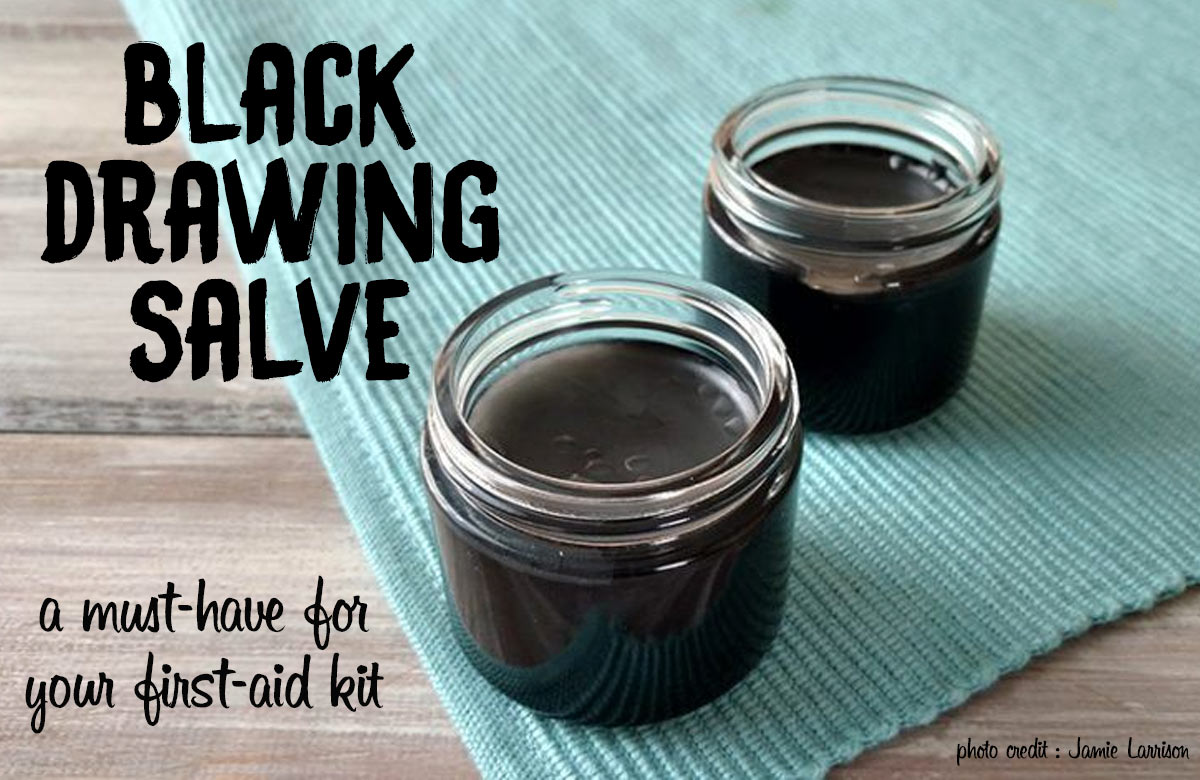 Black Drawing Salve