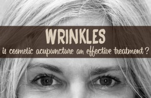 wrinkles cosmetic acupuncture treatment