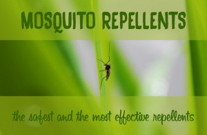 DEET vs natural mosquito repellent