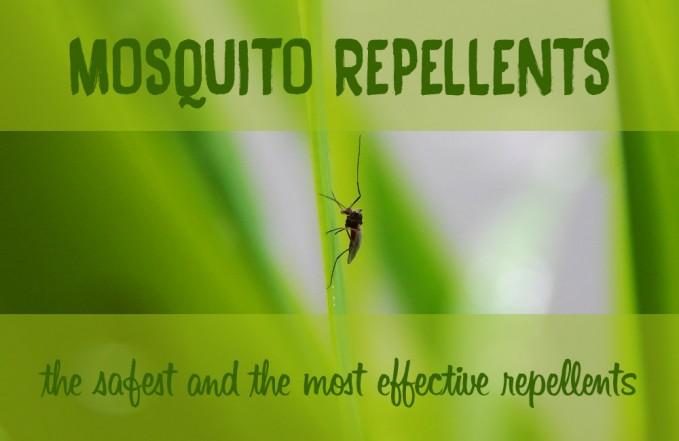 DEET vs natural mosquito repellent