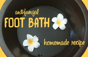 antifungal foot bath recipe