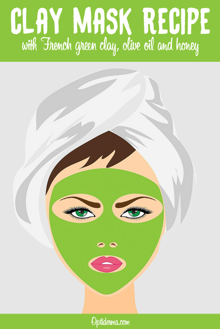 French Green Clay Mask Recipe