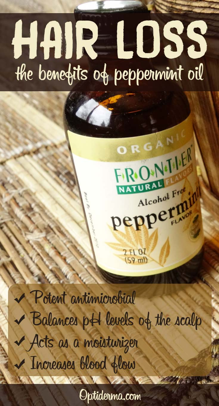 The Benefits of Peppermint Oil for Hair Loss