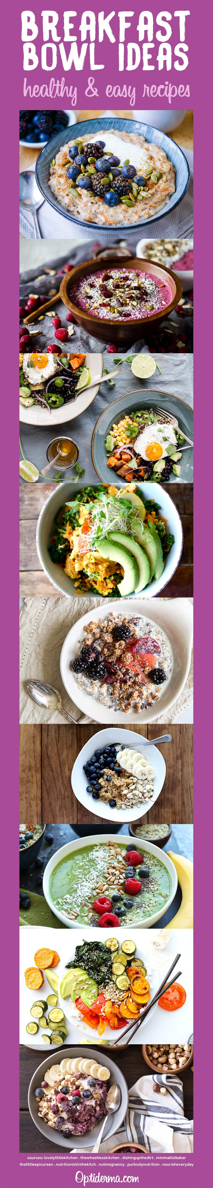 Healthy Easy Breakfast Bowl Recipe