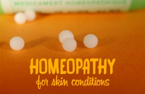Homeopathic remedies for skin conditions
