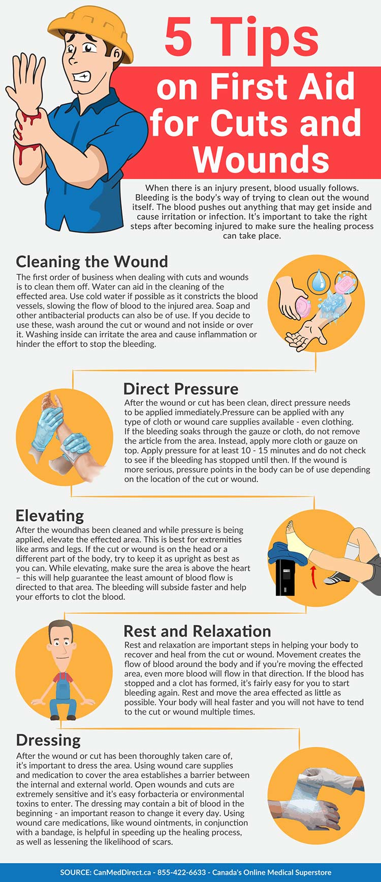 First Aid for Cuts & Wounds - How to Heal Wounds Faster