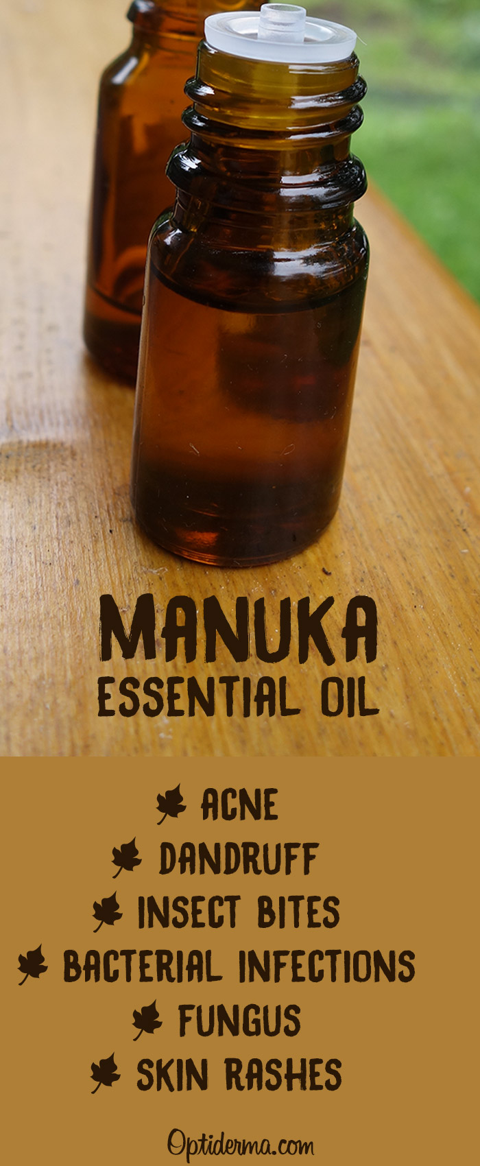 Health Benefits of Manuka Oil