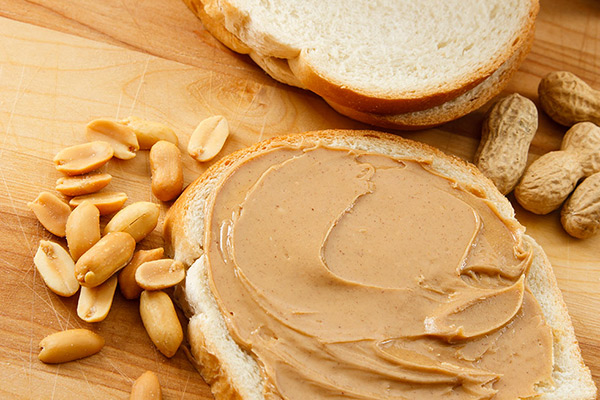 Baby Foods - Avoid Peanut Butter