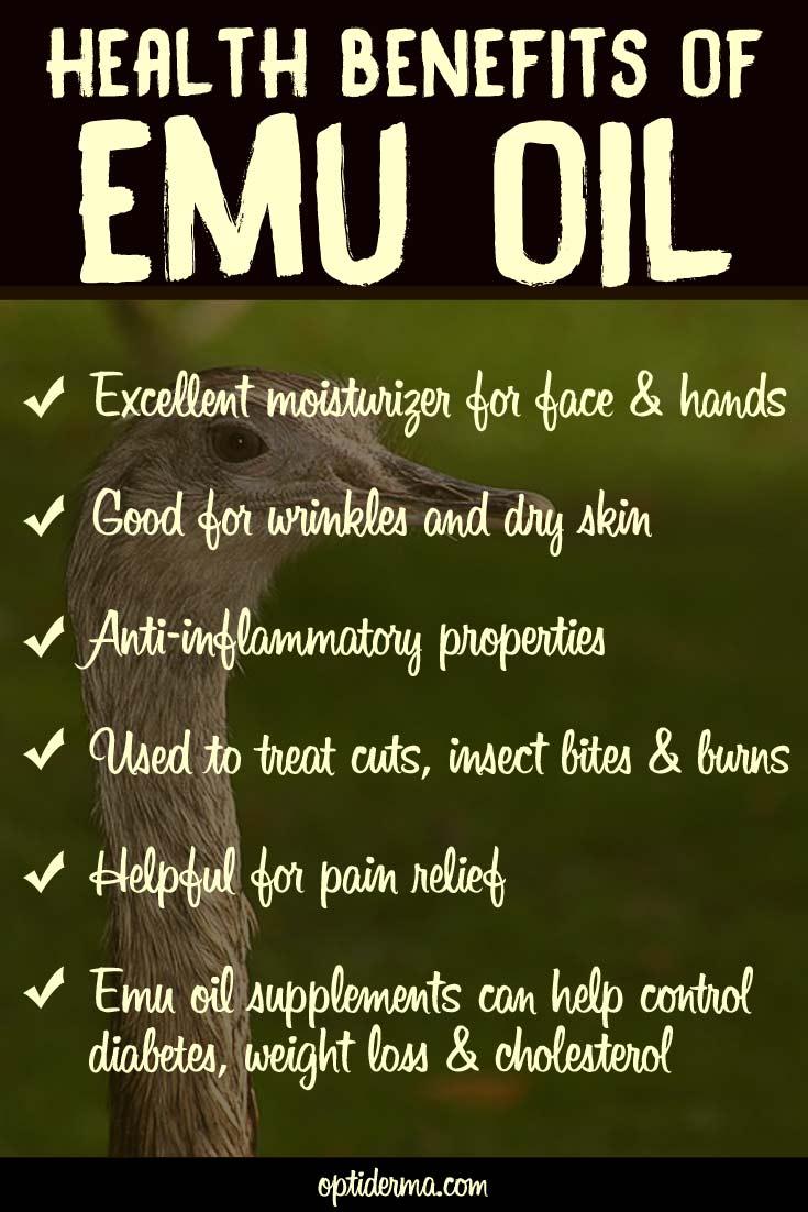 Health Properties of Emu Oil