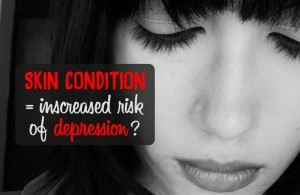 skin conditions depression
