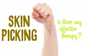 skin picking therapy