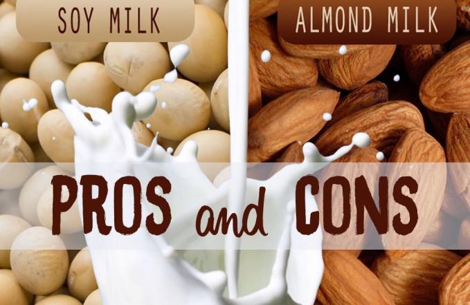 Soya milk vs milk