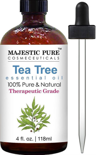 Tea tree essential oil for warts
