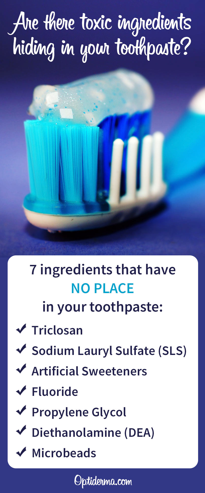Toxic Ingredients in Toothpaste