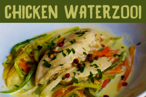 Chicken Waterzooi Recipe