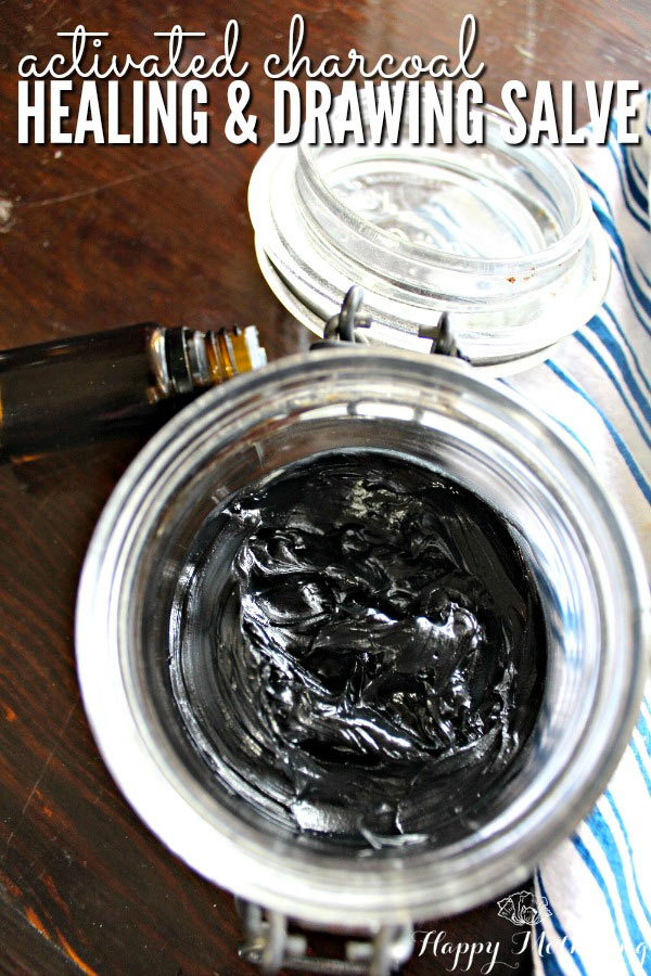 Black Drawing Salve Homemade Recipe
