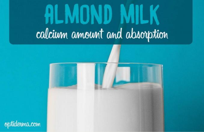 Does almond milk have calcium?