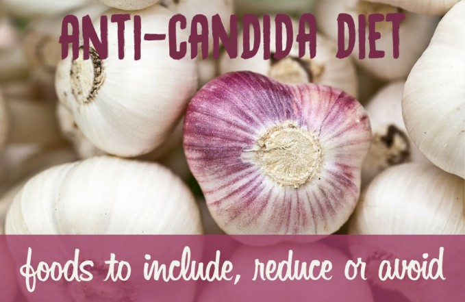 Anti-candida diet - foods to eat, reduce or avoid
