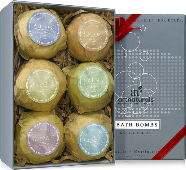 Art Naturals Bath Bombs Holiday Gift