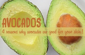 is avocado good for skin