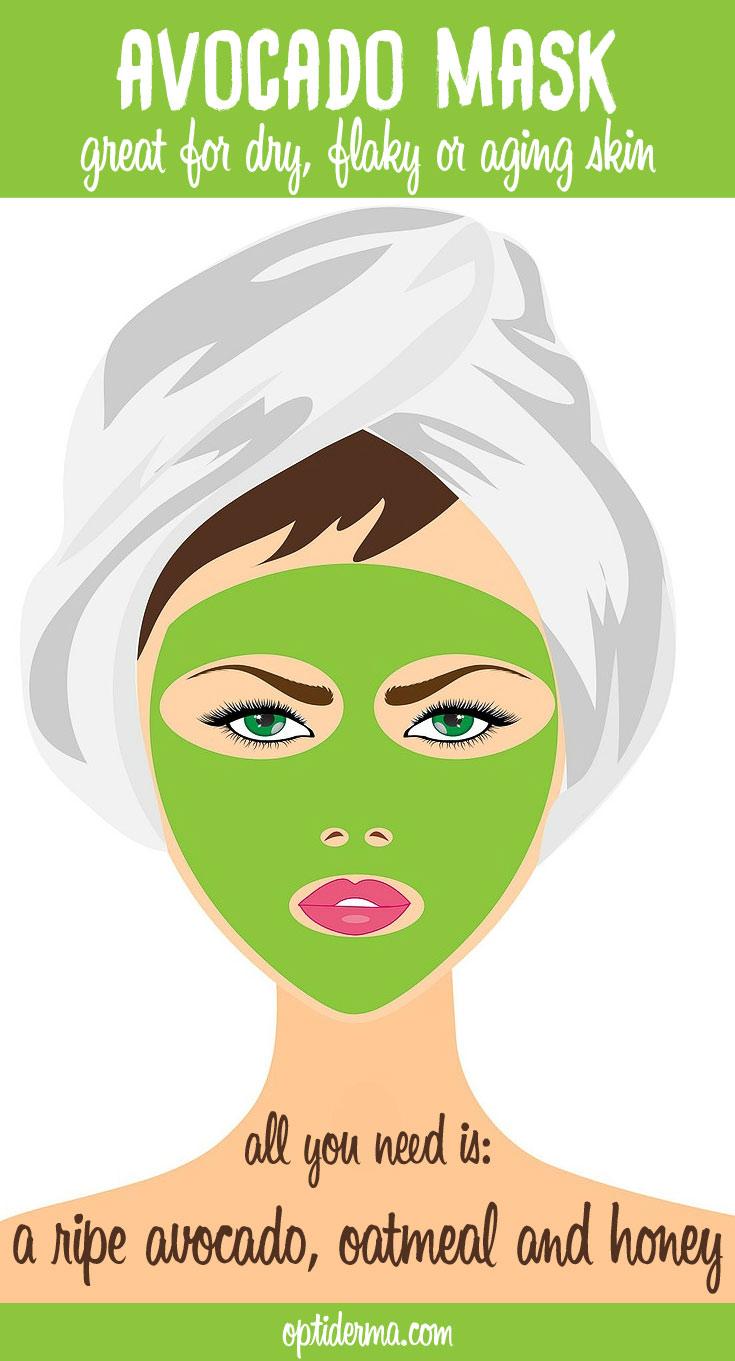 Avocado Oatmeal Mask Recipe