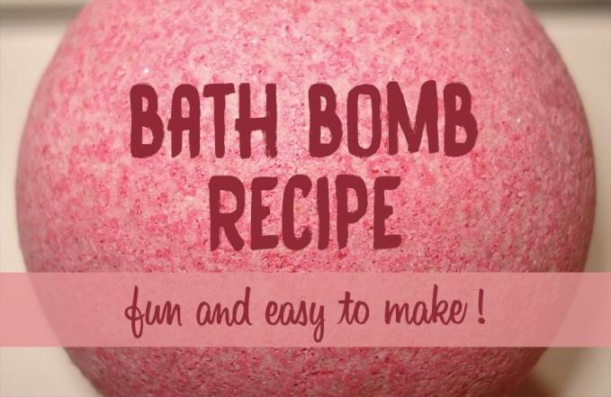 Bath bombs recipe