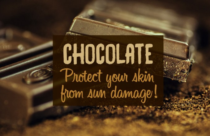 chocolate skin benefits