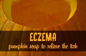 Eczema pumpkin soap