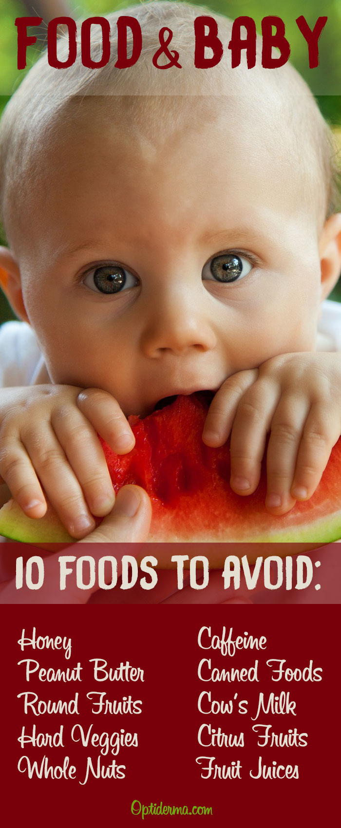 Food & Baby: Foods to Avoid