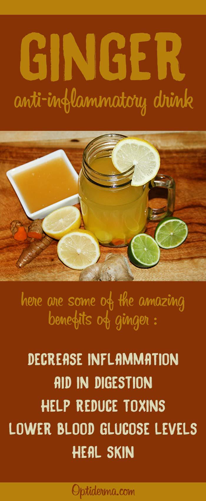 Ginger Anti-Inflammatory Drink