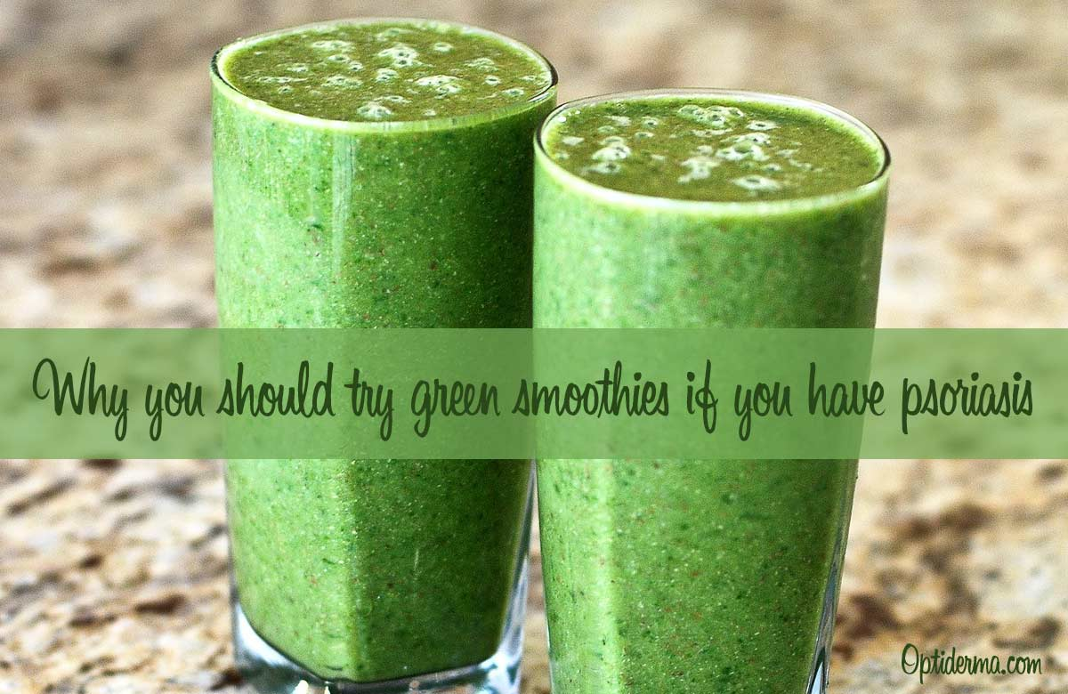 Green Smoothies for Psoriasis