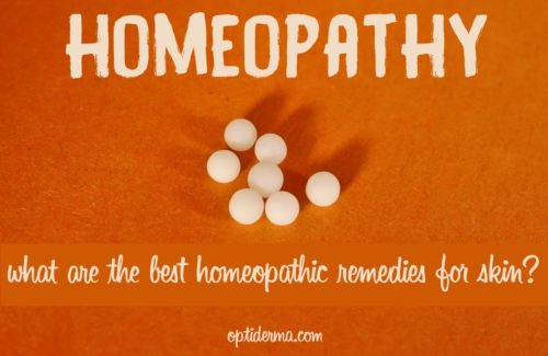 Homeopathic Remedies for Skin