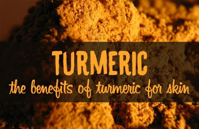 turmeric skin benefits anti-inflammatory