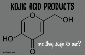 kojic acid products