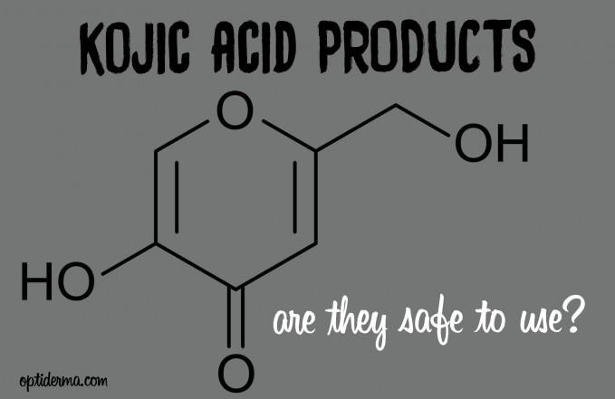 kojic acid products