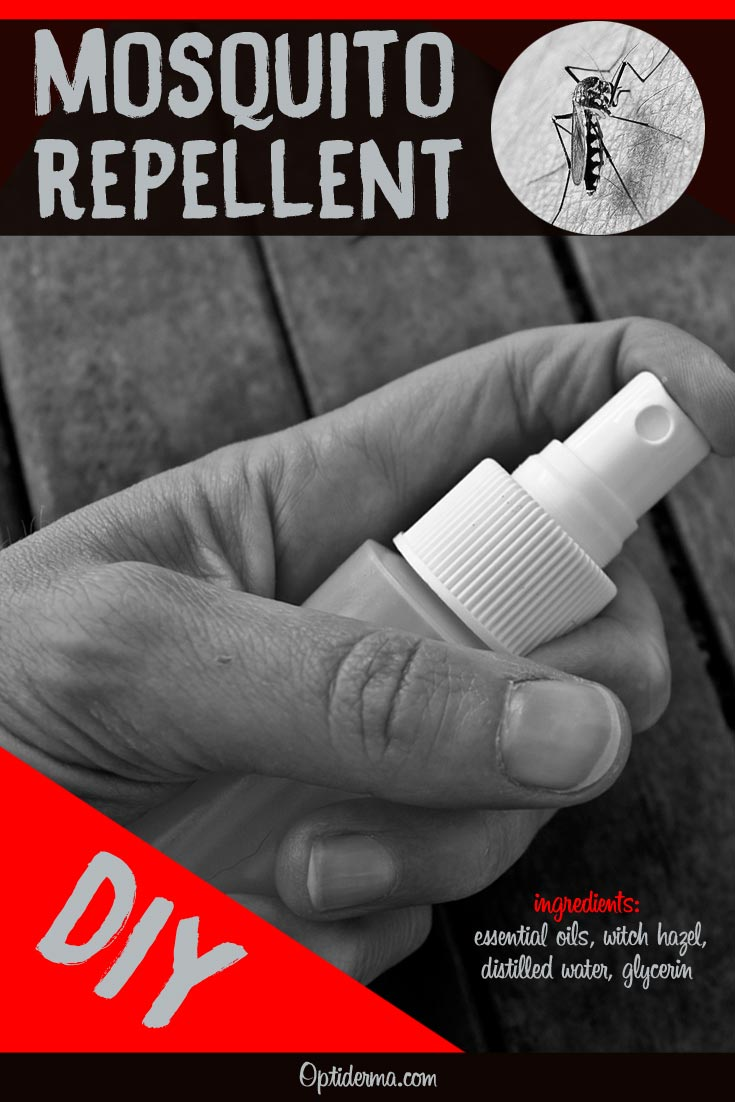 Lemon Eucalyptus Mosquito Repellent DIY - Easy Spray Recipe