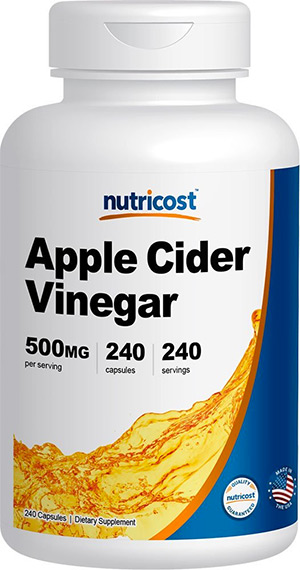 Apple Cider Vinegar Capsules: Nutricost