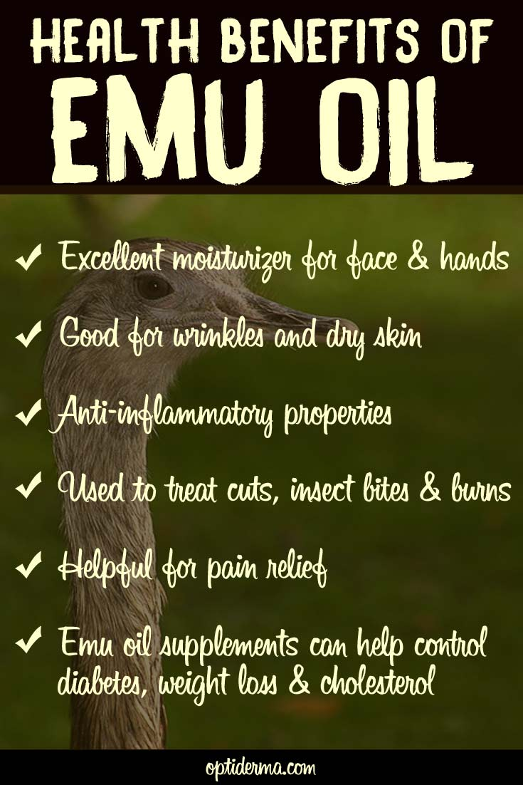 Health Properties of Emu Oil
