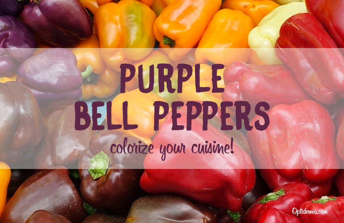 Purple Bell Peppers: Colorize your Cuisine!