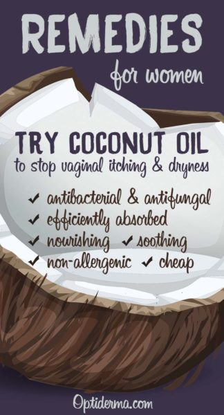 Stop Vaginal Itching And Dryness With Coconut Oil Optiderma