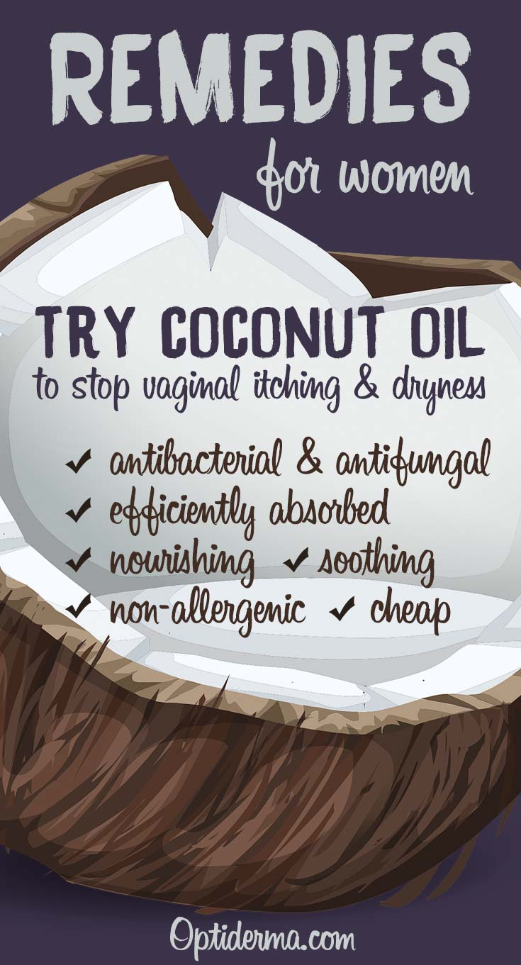 Stop Vaginal Itching and Dryness with Coconut Oil