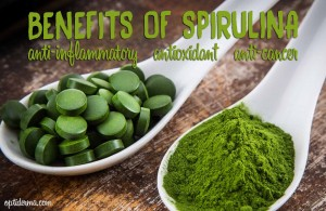 spirulina for skin