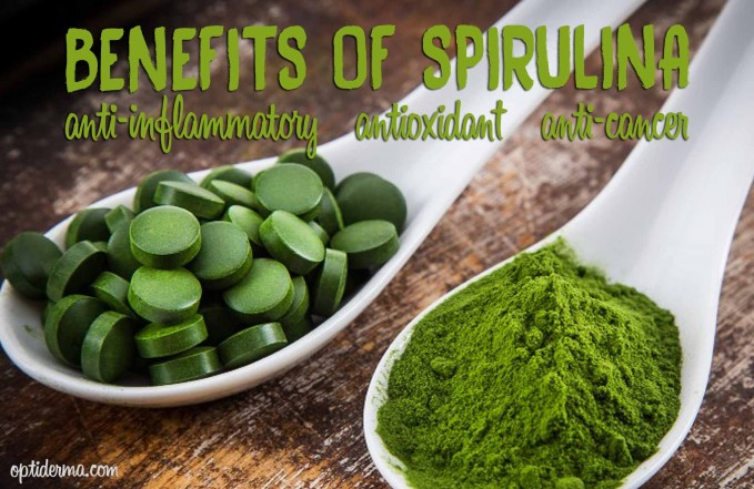 spirulina for skin