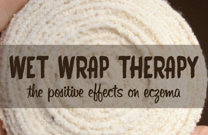 Eczema wet wrap therapy